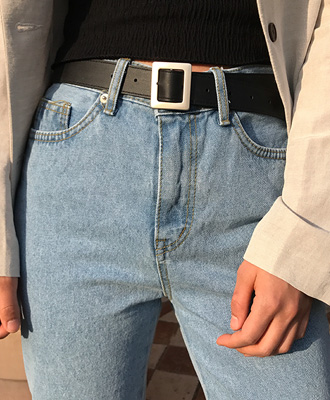 스컬 belt (2 color)