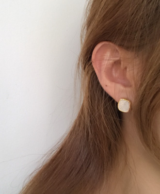 비커즈 earing (2 color)